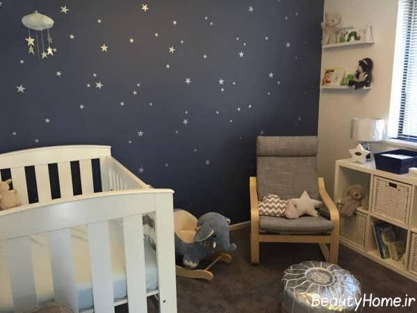 طراحی شیک و زیبا اتاق نوزاد