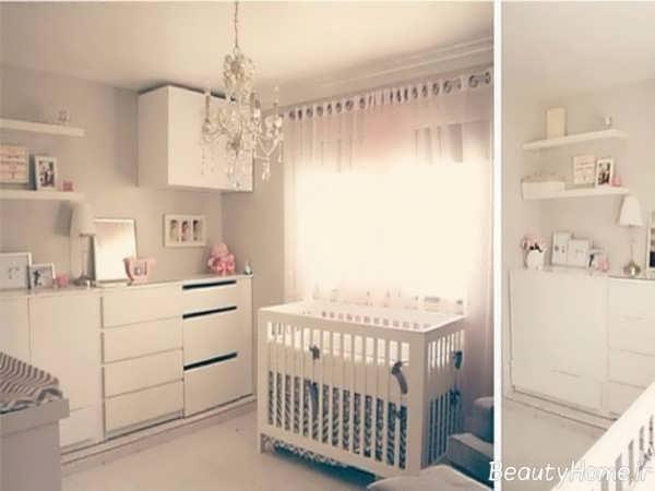 چیدمان اتاق نوزاد پسر با کمک ایده های خلاقانه