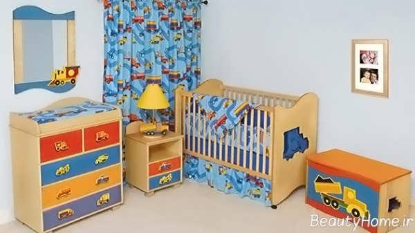 دکوراسیون اتاق نوزاد پسر