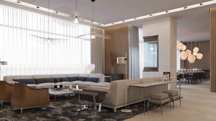 طراحی دکوراسیون خانه ای زیبا