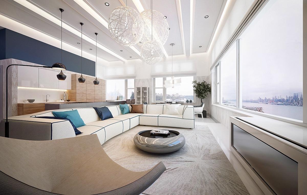 خلاقیت در دکوراسیون خانه آپارتمانی