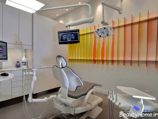 دکوراسیون مطب دندانپزشکی با طراحی شیک و کاربردی