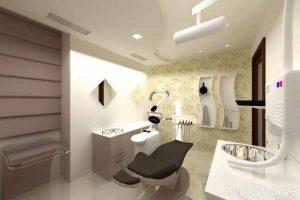 دکوراسیون مدرن و کاربردی مطب دندانپزشکی