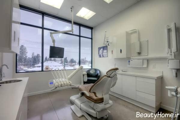 دکوراسیون مدرن و زیبا مطب دندانپزشکی