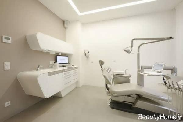 دکوراسیون زیبا و شیک مطب دندانپزشکی