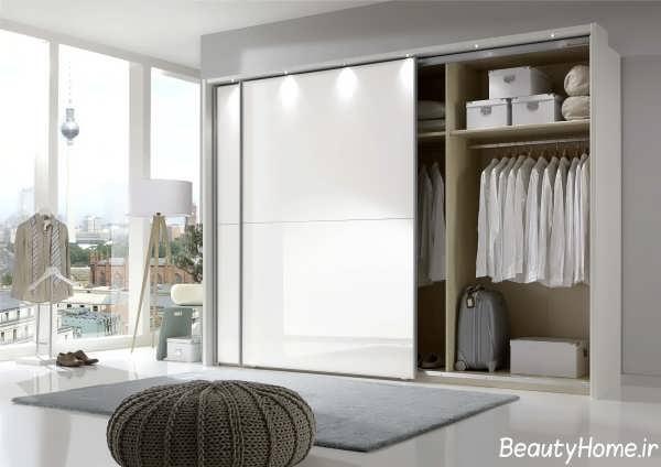 مدل کمد دیواری سفید