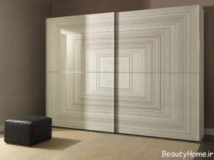 مدل کمد دیواری زیبا های گلاس