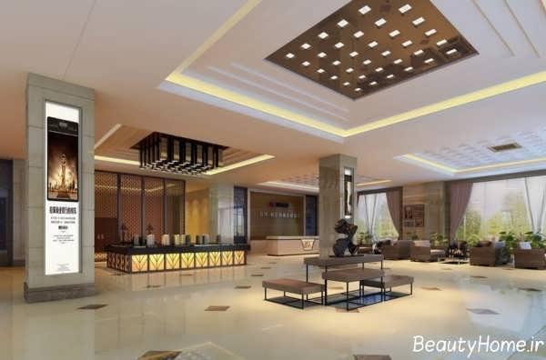 طرح سقف کناف برای ساختمان تجاری
