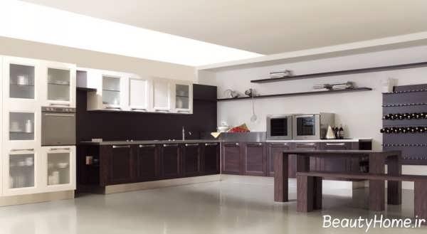 مدل کابینت زیبا و جدید آشپزخانه