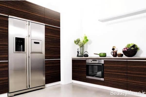 مدل کابینت های جدید ام دی اف و شیک آشپزخانه