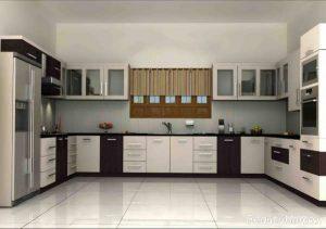 طراحی دکوراسیون داخلی آشپزخانه بزرگ و زیبا