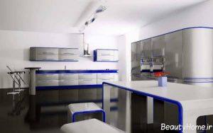 طراحی آشپزخانه سفید