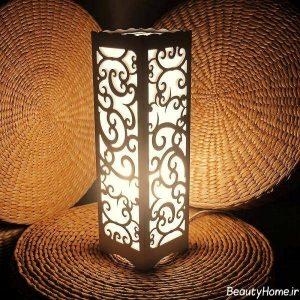 مدل آباژور چوبی اتاق خواب