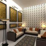 دکوراسیون اتاق نشیمن با طراحی شیک و کاربردی