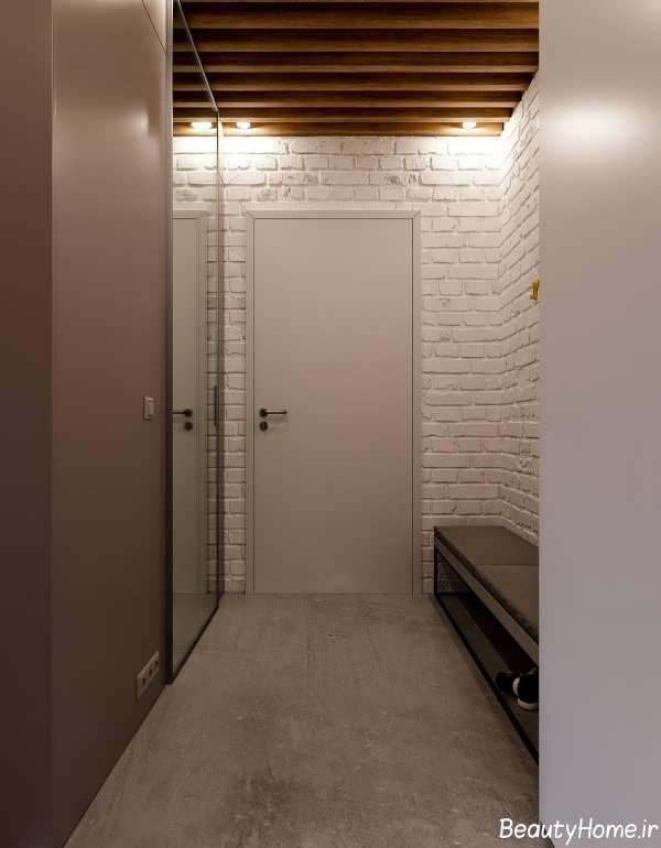 دکوراسیون خانه ای مینیمال با طراحی شیک