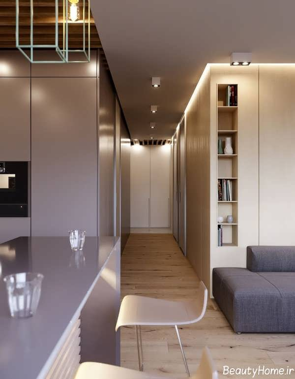 دکوراسیون شیک و مدرن خانه مینیمال