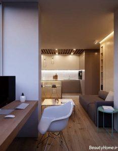دکوراسیون خانه با سبک مینیمال