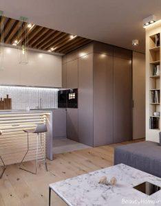 دکوراسیون 3 خانه با سبک مینیمال