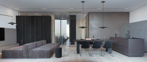 طراحی دکوراسیون داخلی خانه مینیمال