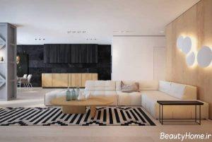 دکوراسیون کامل خانه آپارتمانی
