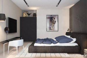 دکوراسیون اتاق خواب مدرن و زیبا