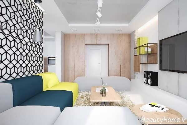 طراحی داخلی اتاق نشمین