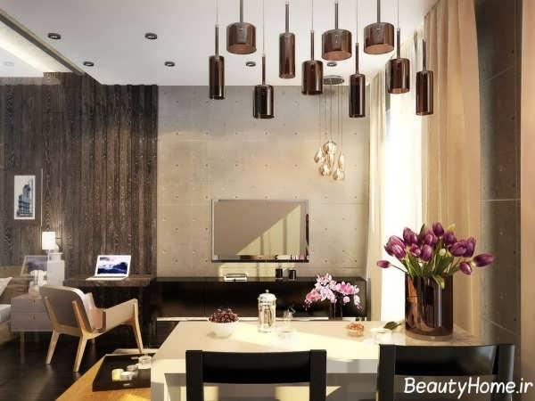 دکوراسیون داخلی زیبا و متفاوت خانه مدرن