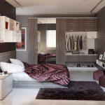 طراحی دکوراسیون اتاق خواب دو نفره