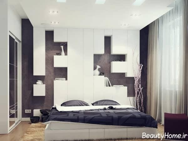 طراحی دکوراسیون مدرن و زیبا اتاق خواب