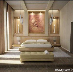 دکوراسیون داخلی اتاق خواب دو نفره