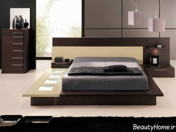 طراحی شیک و کاربردی اتاق خواب دو نفره