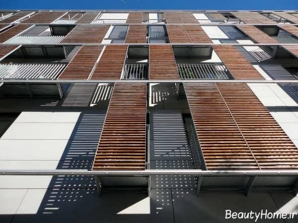 نما زیبا و متفاوت ساختمان