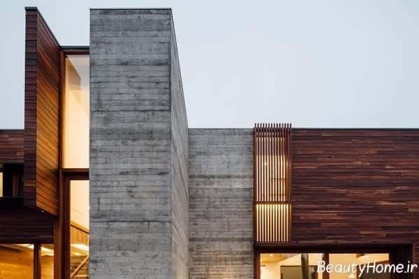 نما قهوه ای و خاکستری ساختمان