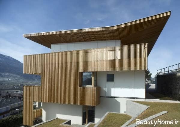 نما چوب و جذاب ساختمان