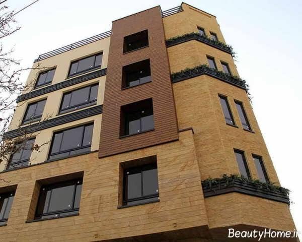 نما ساختمان چند طبقه