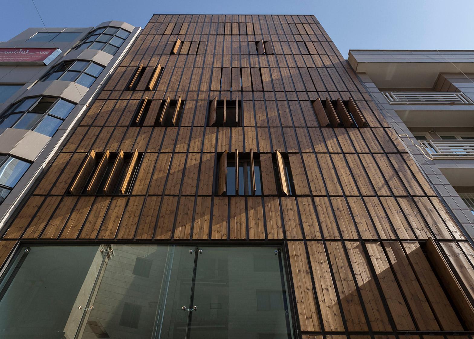 Elevation Reclaimed Wood : نمای چوبی ساختمان های مسکونی با طراحی مدرن و متفاوت