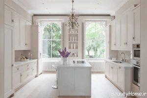 دکوراسیون زیبا و بی نظیر آشپزخانه
