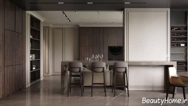 دکوراسیون داخلی واحد آپارتمانی