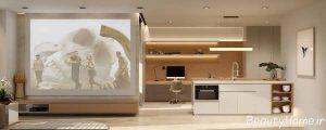 دکوراسیون مدرن واحد آپارتمانی
