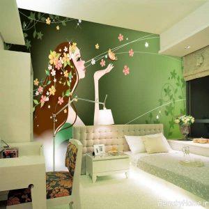 اتاق خواب های دخترانه با دکوراسیون های شیک و کاربردی