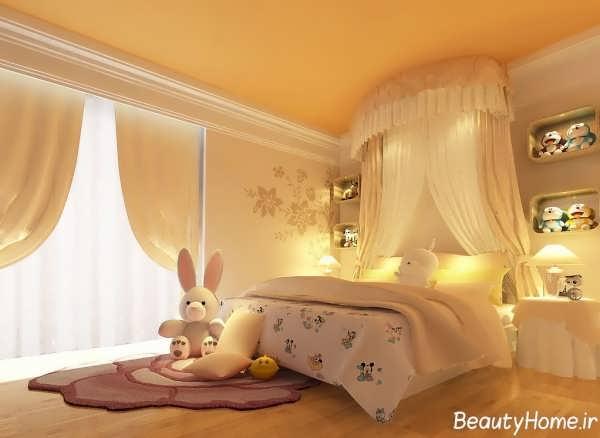 طراحی شیک و کاربردی اتاق خواب های دخترانه