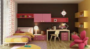طراحی اتاق خواب های دخترانه