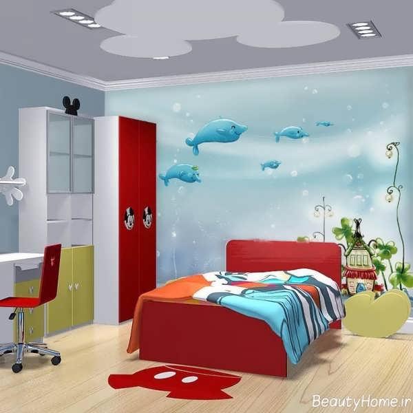 دکوراسیون داخلی اتاق خواب های دخترانه