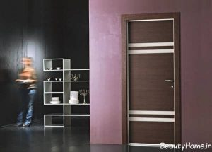 مدل درب ورودی با طراحی زیبا