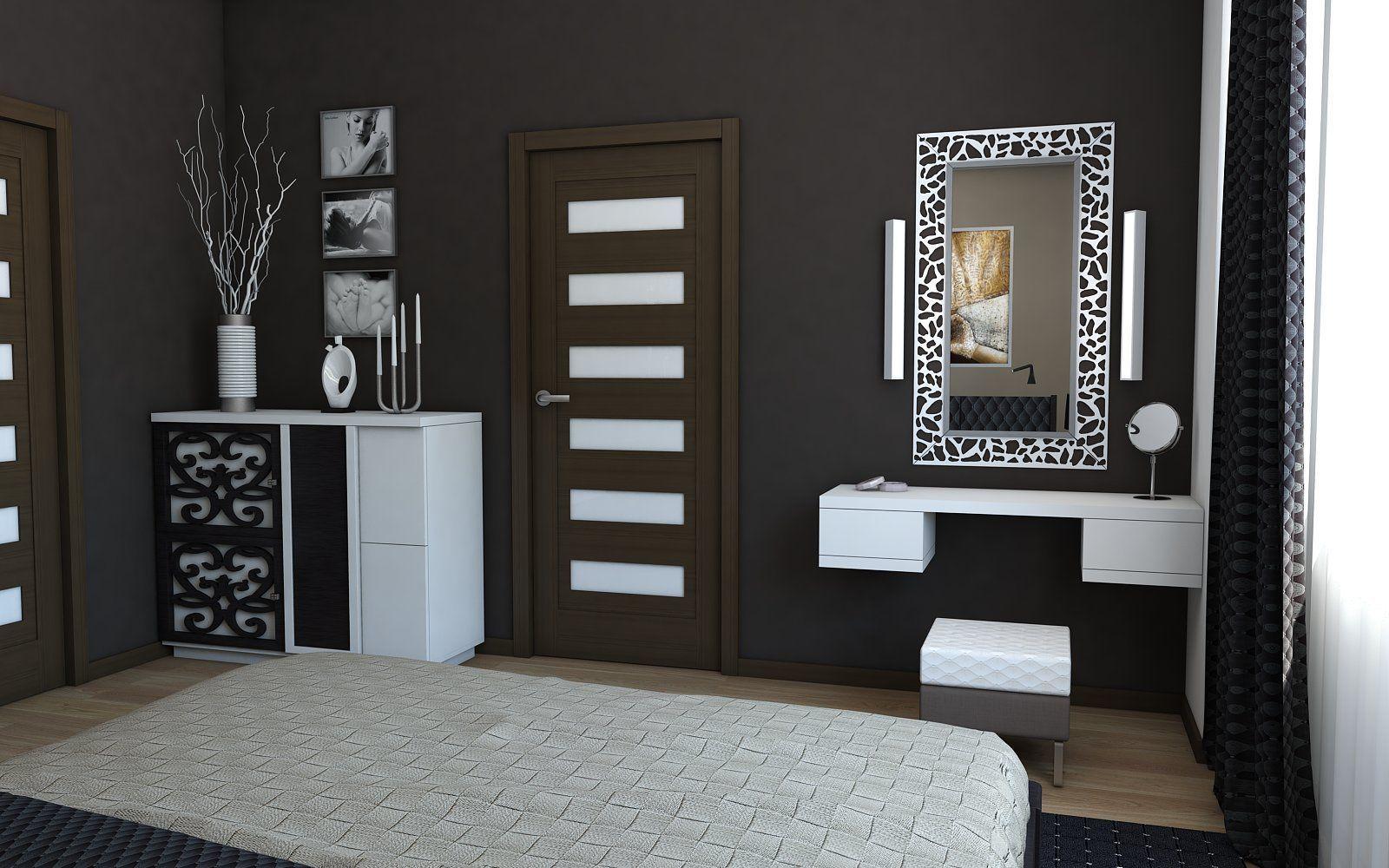 مدل درب اتاق خواب با طراحی شیک و زیبا