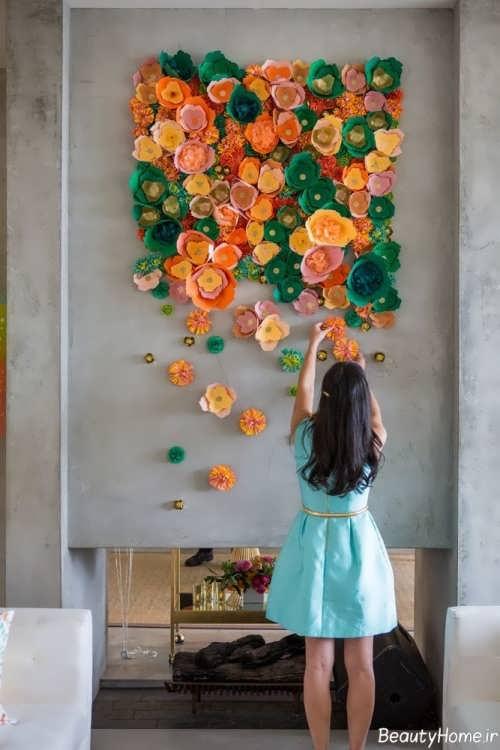 تزیین خلاقانه و شیک دیوار اتاق کودک