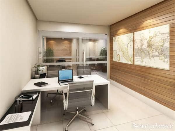 35 Modern Home Office Design Ideas: طراحی دکوراسیون دفتر کار کوچک با ایده های کاربردی