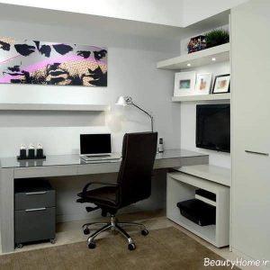 دیزاین داخلی دفتر کار کوچک