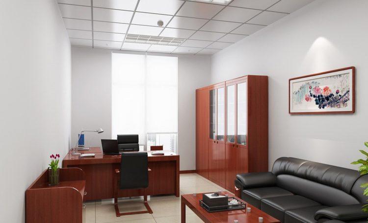 طراحی دکوراسیون دفتر کار کوچک