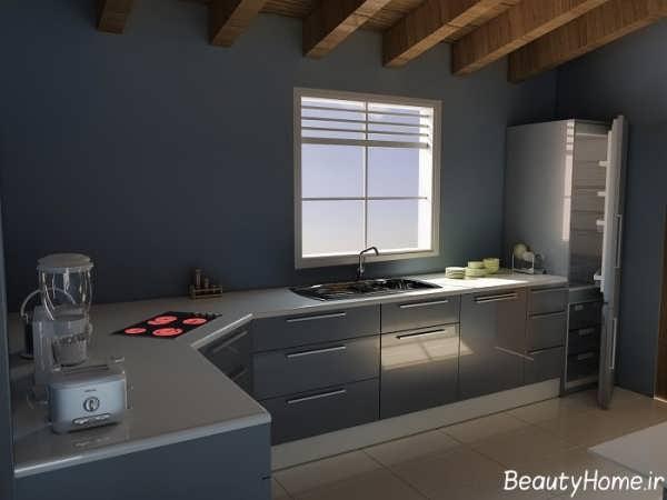 دکوراسیون داخلی شیک و زیبا آشپزخانه
